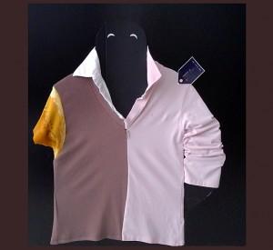 Eva Z. Genthe C21 Design Trinity M - Unique Personal Recycled Fashion Shirt